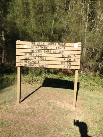 The Great North Walk 2: Thornleigh to Berowra Heights – Solo